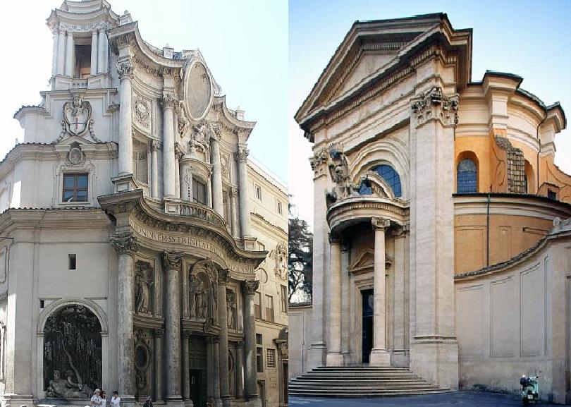 Bernini e Borromini: l'arte che li unisce e li divide