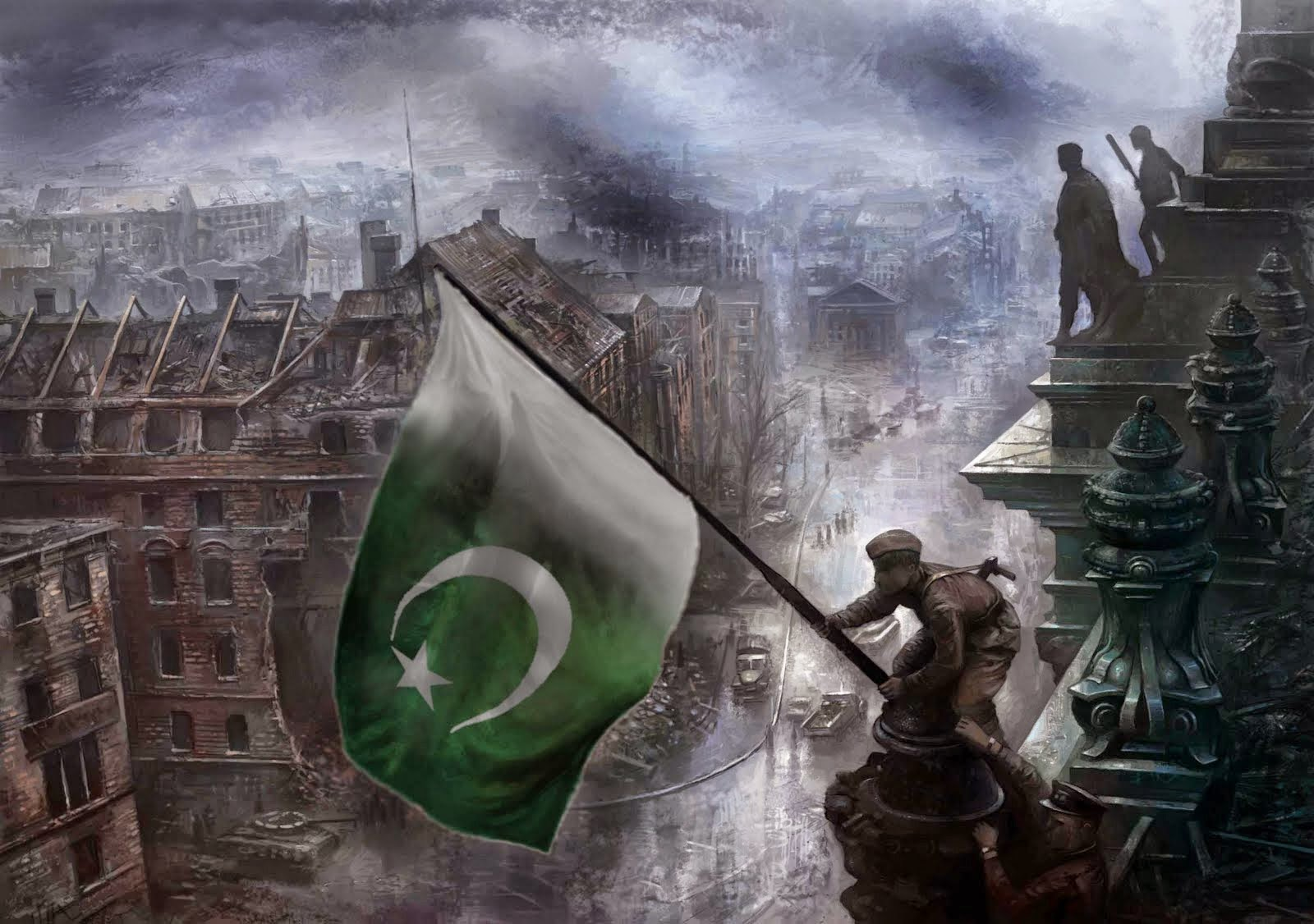 14TH AUGUST 1947, THE BLESSED DAY.