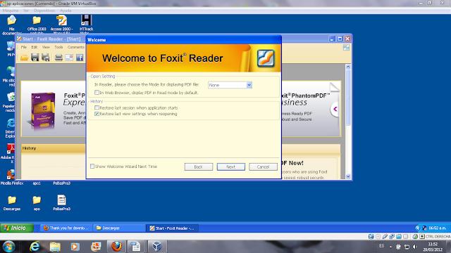 15 instalación de foxit reader
