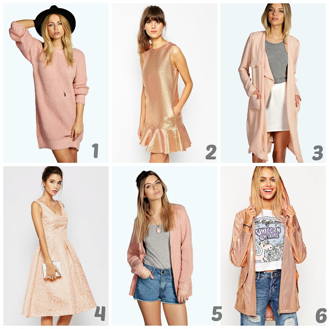 Pink and Rose Gold Wishlist | Fashion