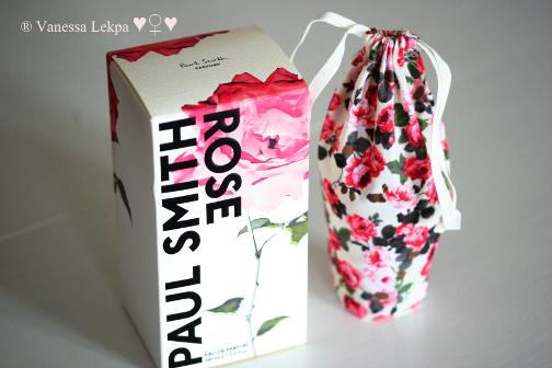 parfum féminin doux floral rose vanessa lekpa