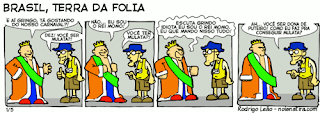 Brasil terra da folia