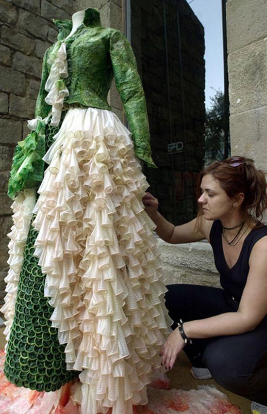 Ideas De Reciclaje Con Vestidos