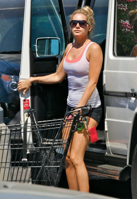 Ashley Tisdale and Car