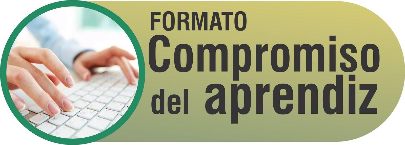 FORMATO COMPROMISO DEL APRENDIZ