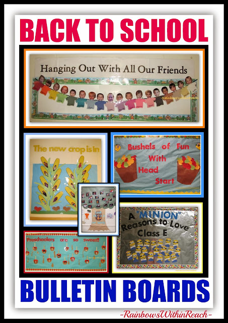 Back to School Bulletin Boards at RainbowsWithinReach