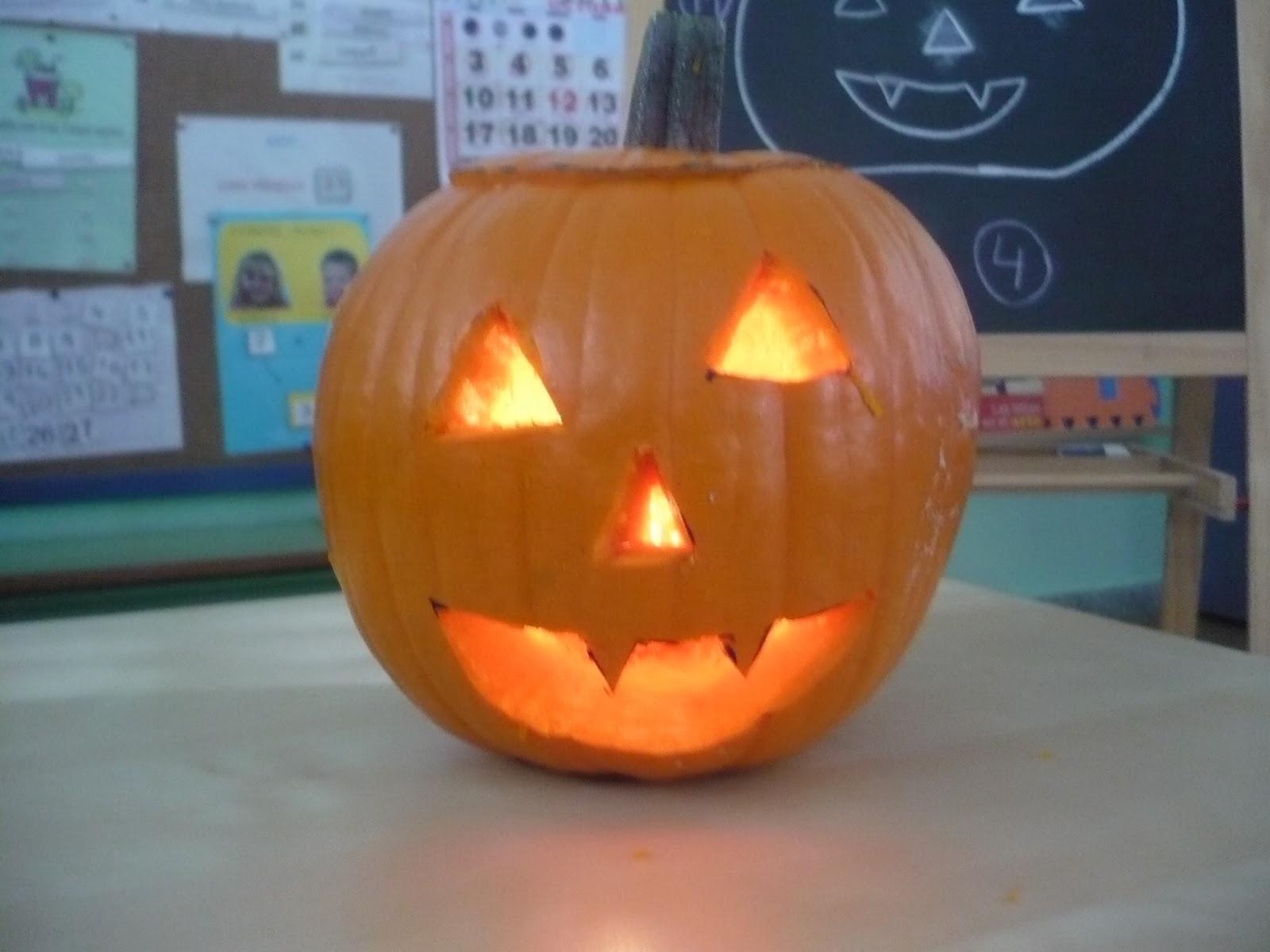 Ceip miguel hern ndez la cig e a c mo hacer una calabaza de halloween - Como hacer calabazas de halloween ...