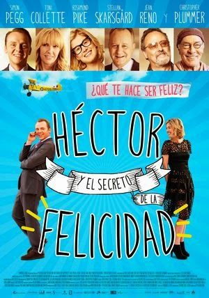 Poster Hector and the Search for Happiness 2014