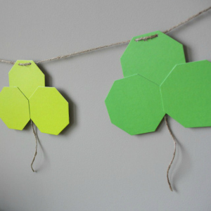 Featured Project: Shamrock Garland