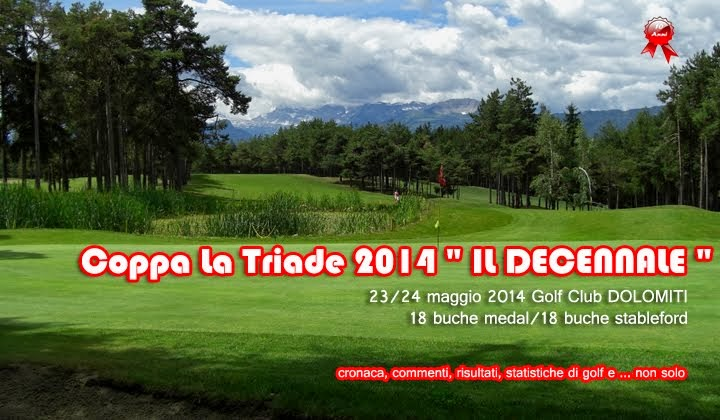 """Il Golf di Quelli della Coppa """"La Triade"""""""