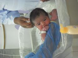 Primeiro banho - logo ao nascer