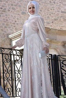 Model Busana Pesta Muslimah Modern