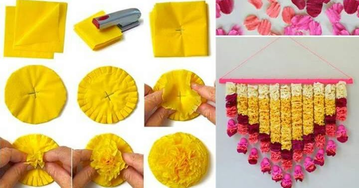 Paper Decoration Idea Crazzy Craft