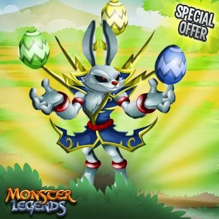 imagen de la oferta especial de pascua de monster legends