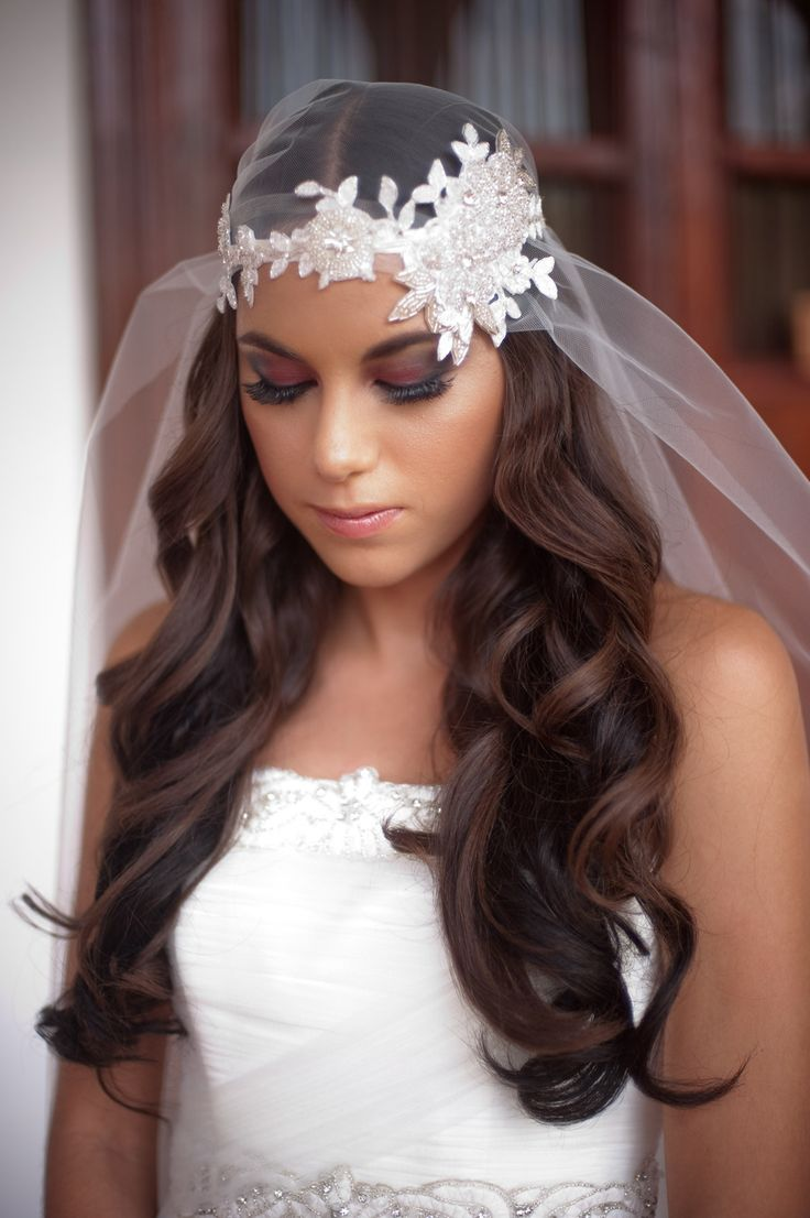 La moda en tu cabello peinados con pelo suelto para - Peinados de novia con flequillo ...