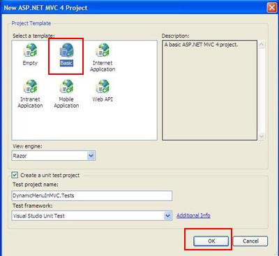 Learn C# ASP NET MVC WCF SQL Angular: Create Dynamic Menu in MVC