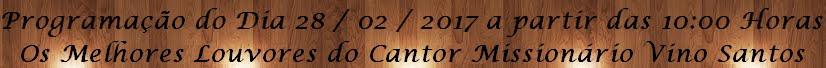 Os Melhores Louvores do Cantor Missionário Viño Santos