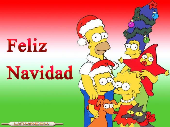 Feliz Navidad Los Simpsons