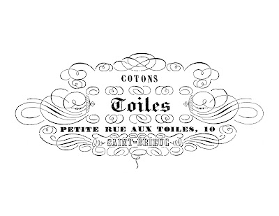 Image Transfer Printable French Toiles