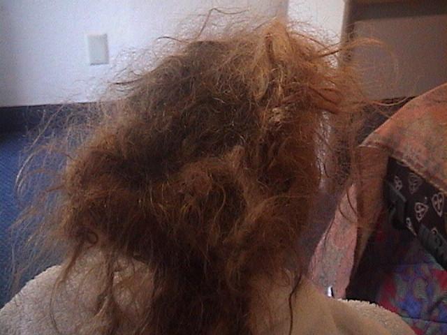 как расспутать волосы если онизапутаны в расческе