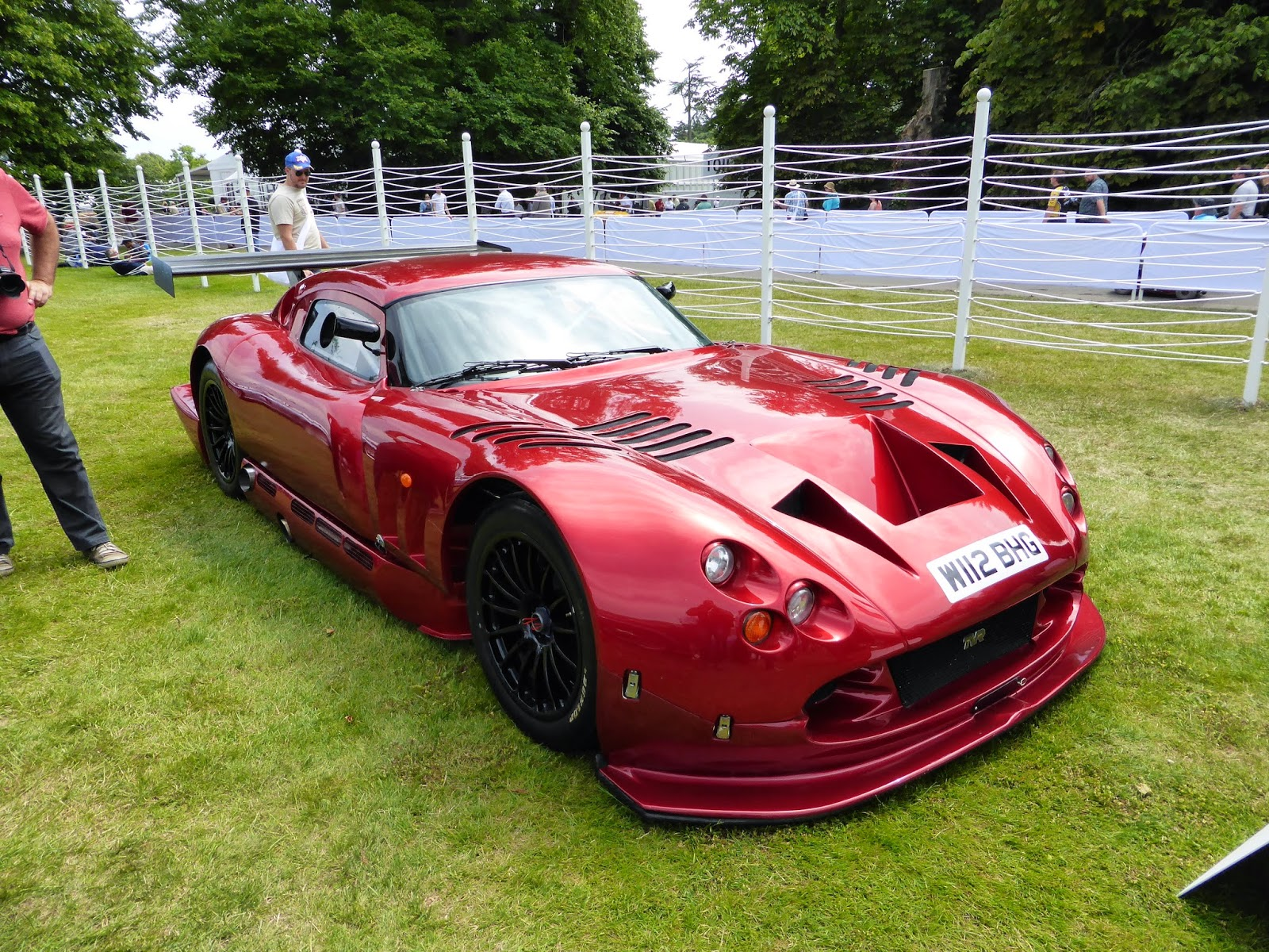 TVR Cerbera Speed 12 in the Cartier paddock