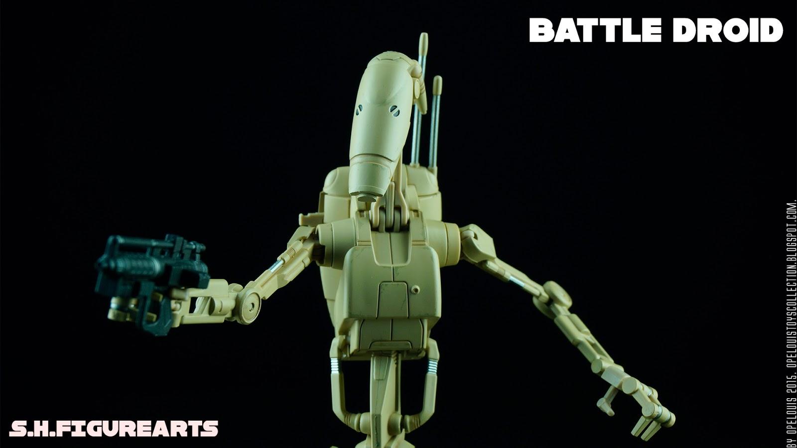 Opelouis S Toys Collection Shfigurearts Star Wars The Phantom Manace Battle Droid