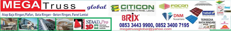 MEGATruss global (Bata ringan - Baja Ringan - Plafon)