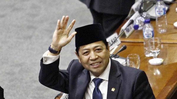 Ketua DPR Setya Novanto Mengundurkan Diri