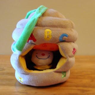 Melissa and Doug Beehive Crib Toy