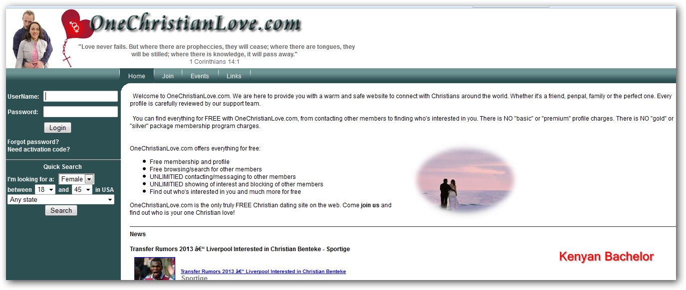 christian dating free browsing