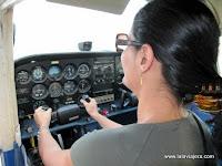 Pilotando Avioneta