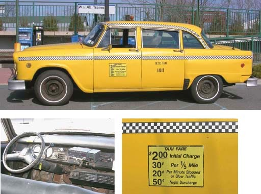 just a car guy last of the checker taxi cabs 1n11 also. Black Bedroom Furniture Sets. Home Design Ideas