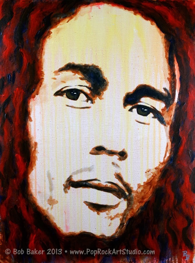 Bob Marley Reggae Art Painting