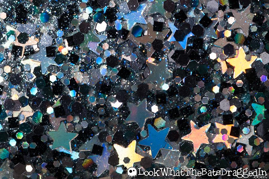 Moonstone Nail Polish Magic Treats collection Licorice Wand Based from Harry Potter macro