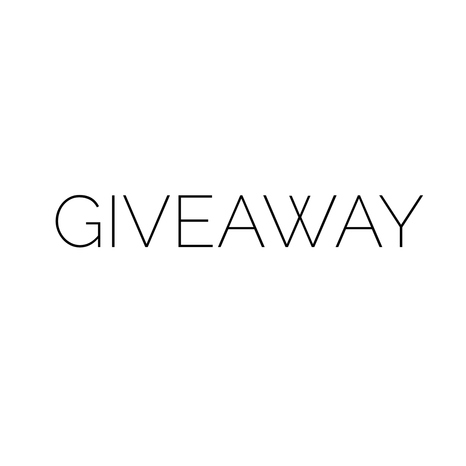 Enter My Current Giveaway