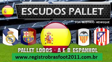 escudos 20111 Escudos Pallet Logos Espanha 2011