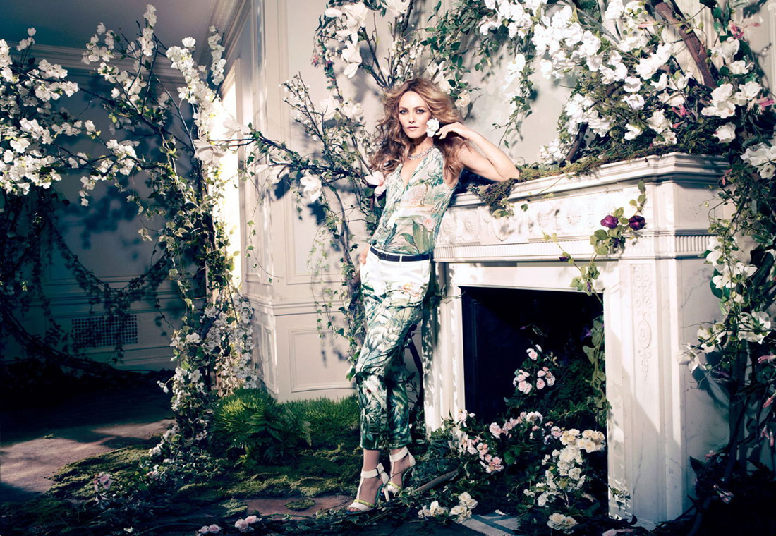 h m conscious collection 2013 campaign featuring vanessa paradis. Black Bedroom Furniture Sets. Home Design Ideas