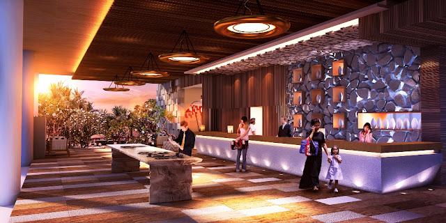Lobby Condotel Swiss-belhotel Kuta