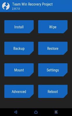 TWRP Xiaomi Redmi