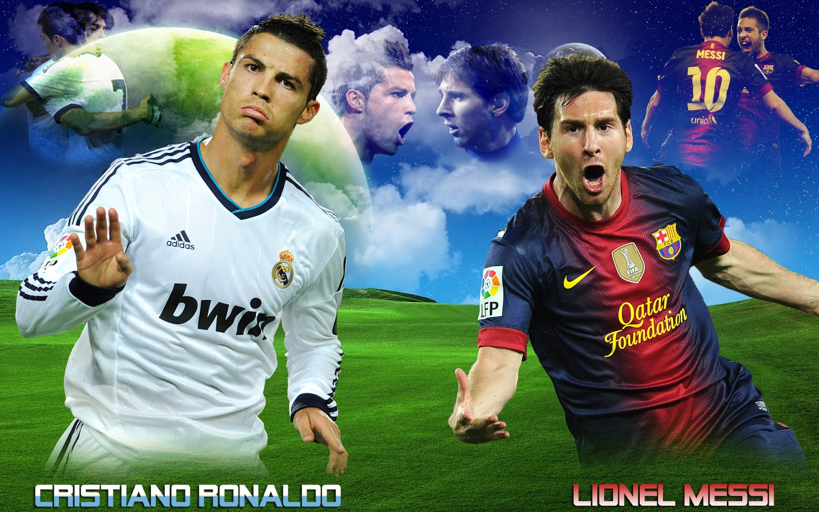 hd cristiano ronaldo vs lionel messi 2013 wallpapers hd hq