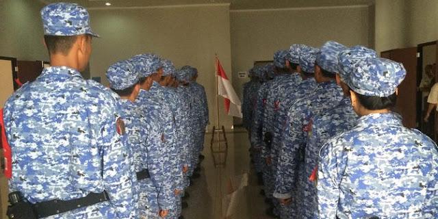 Lucunya peserta Bela Negara, nyerah minta pulang tapi mau seragam