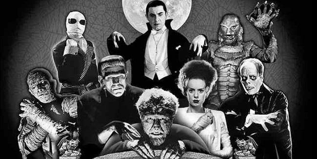 universal monsters wallpaper sexy woman in white dress reboot series