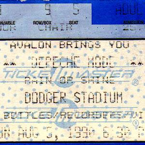 Depeche Mode - Live in Los Angeles, Dodgers Stadium 08.05.1990
