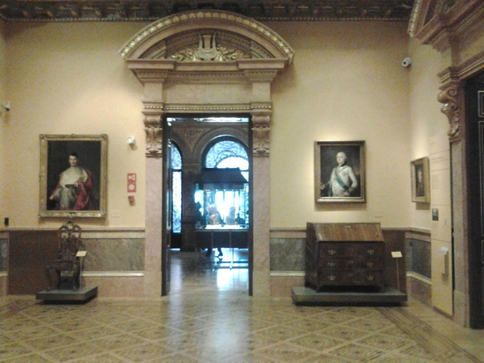 Madrid con encanto museo l zaro galdiano for Battlefield 1 salon de baile
