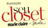 Promoção Seu Closet Marie Claire by Daslu www.closetmarieclaire.com.br