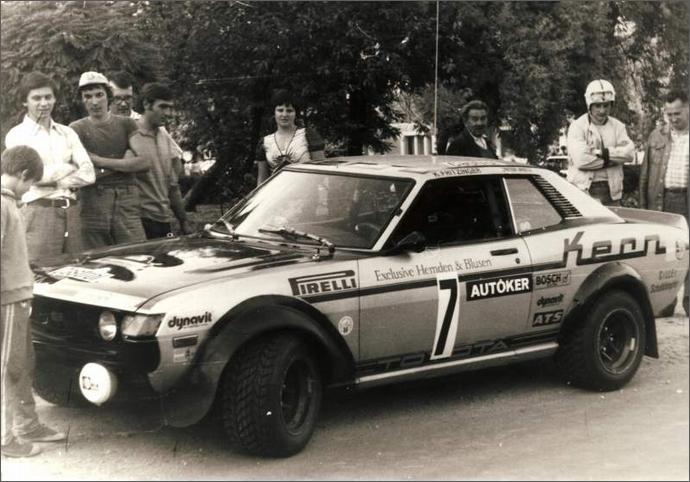 Toyota Celica I, sportowe japońskie coupe, z napędem na tył, dawna motoryzacja, nostalgic, stary model, fotki, wyścigowa, rajdowa