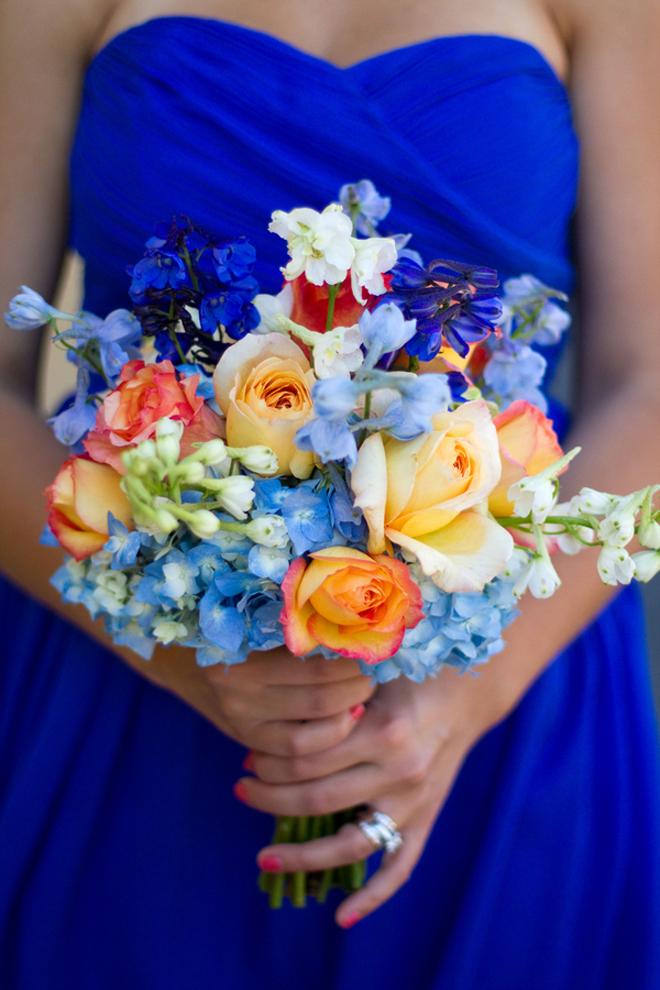 Blue Orange Sonoma Wedding Belle The Magazine
