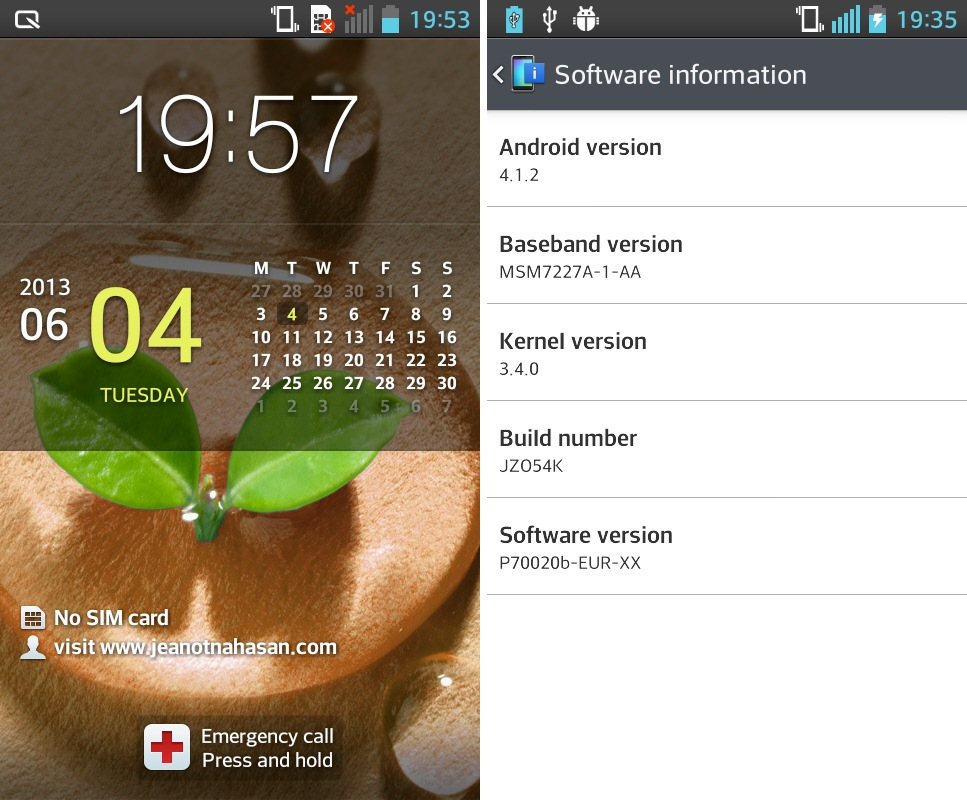 Untuk Lg Optimus L7 P705 Indonesia: Tutorial Cara Update LG Optimus ...