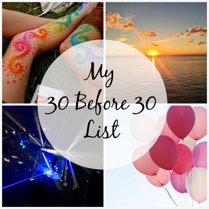 30 before 30 list  maroon 5 concert #30before30 blog watercolor tattoo balloon sunset