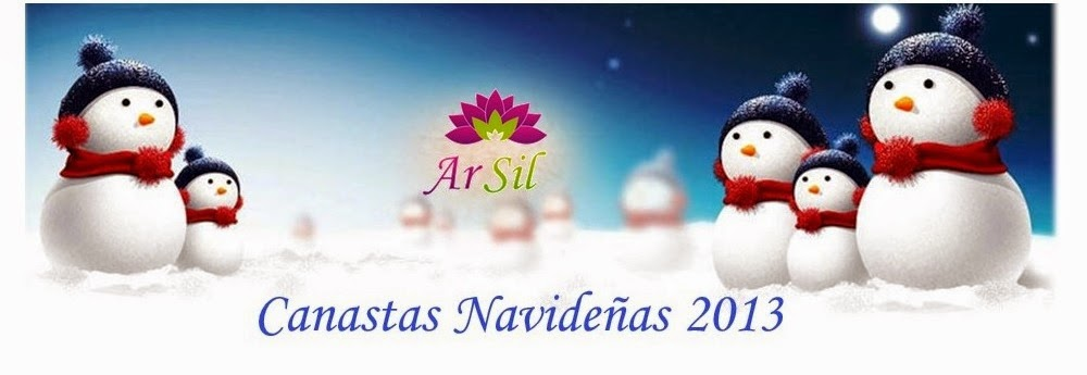Canastas Navideñas 2013 ArSil
